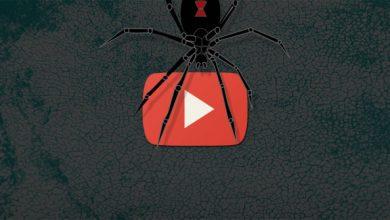 تصویر از بد افزار تبلیغاتی در یوتیوب